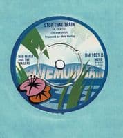 BOB MARLEY AND THE WAILERS Baby Baby We've Got A Date Vinyl Record 7 Inch Blue Mountain 1973